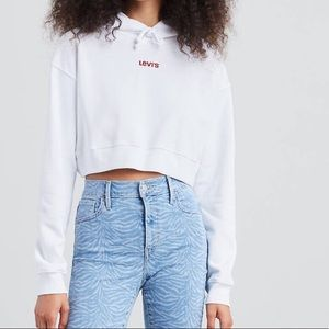 Levi's Cropped Hoodie